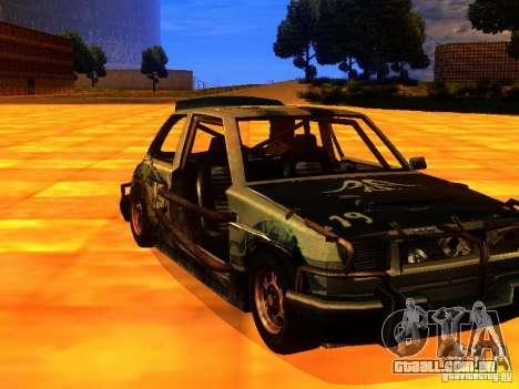 CHILI from FlatOut 2 para GTA San Andreas vista interior
