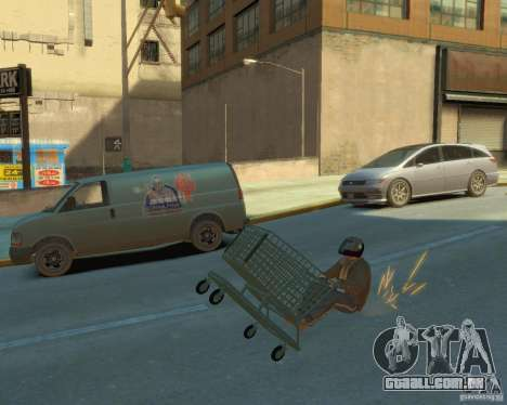 Trole para GTA 4 vista de volta
