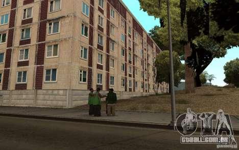 Uma pequena cidade russa na Grove Street para GTA San Andreas terceira tela
