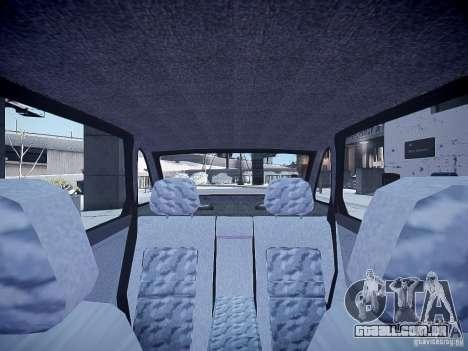 LADA 21103 v 2.0 para GTA 4 vista interior