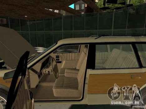 Oldsmobile Cutlass Cruiser 1993 para GTA San Andreas vista traseira