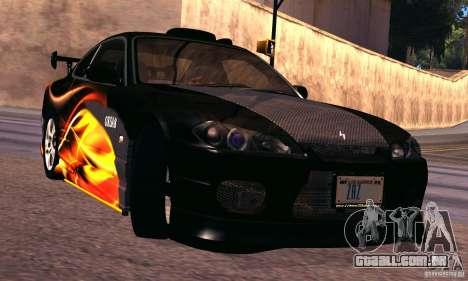 Nissan Silvia s15 tunable para GTA San Andreas esquerda vista