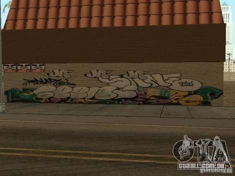 Cidade de los Santos graffiti lendas v1 para GTA San Andreas segunda tela