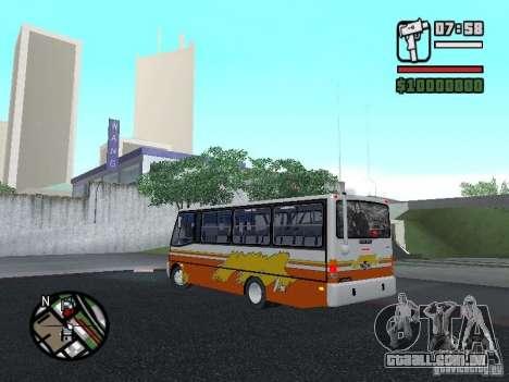 Ciferal Agilis M.Benz LO-814 BY GTABUSCL para GTA San Andreas esquerda vista