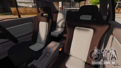 Nissan Skyline GT-R (BNR32) para GTA 4 vista interior