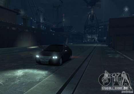 Hatchback de LADA priora para GTA 4 vista direita