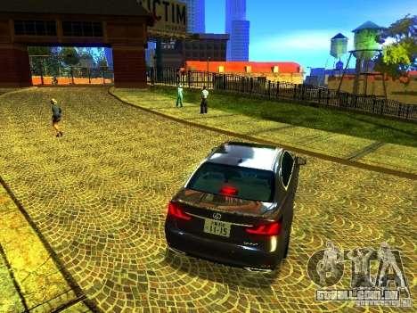 ENBSeries by JudasVladislav para GTA San Andreas por diante tela