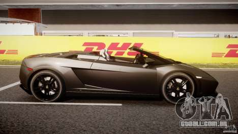 Lamborghini Gallardo LP560-4 Spyder 2009 para GTA 4 vista interior