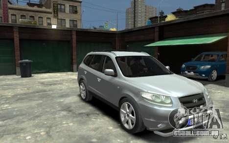 Hyundai Santa Fe para GTA 4 vista de volta