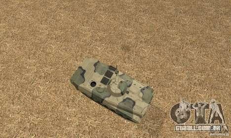 BMP-1 Camo para GTA San Andreas vista direita