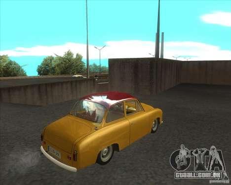Syrena 104 para GTA San Andreas traseira esquerda vista