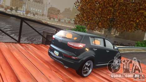 Kia Sportage 2010 v1.0 para GTA 4 vista lateral