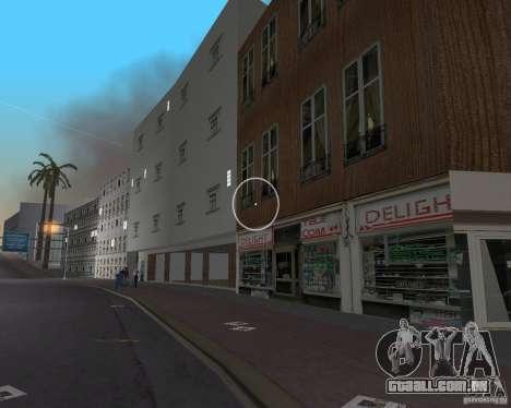 New Downtown: Shops and Buildings para GTA Vice City nono tela