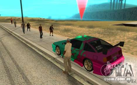 O slide mestre para GTA San Andreas