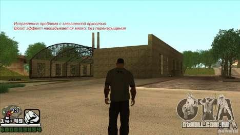 Real ENB Settings v3.0 The End version para GTA San Andreas sexta tela