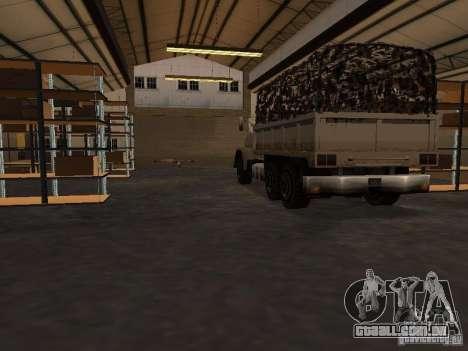 A base militar revivida em docas v 3.0 para GTA San Andreas terceira tela