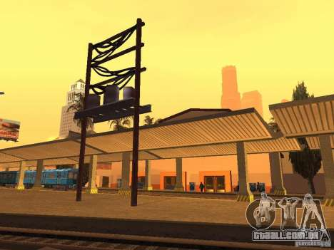 Unity Station para GTA San Andreas sexta tela