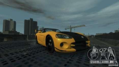 Dodge Viper SRT-10 ACR 2009 para GTA 4