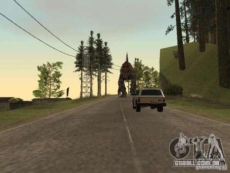 Dinosaurs Attack mod para GTA San Andreas oitavo tela