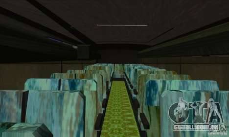 Mercedes-Benz Travego para GTA San Andreas vista interior
