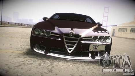 Alfa Romeo Brera Ti para GTA San Andreas vista superior