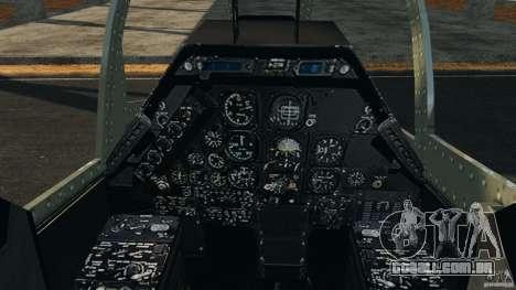 Bell AH-1 Cobra para GTA 4 vista de volta