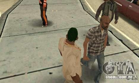 Kornrou verde para GTA San Andreas segunda tela