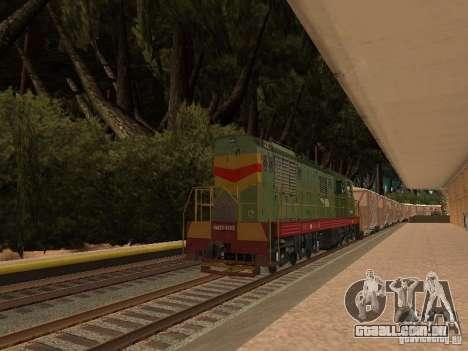 Floresta em Las Venturas para GTA San Andreas sétima tela