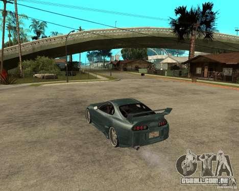 Toyota Supra Veilside para GTA San Andreas esquerda vista