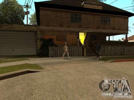 Girlz Medic in Grove para GTA San Andreas segunda tela