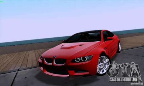 BMW M3 E92 v1.0 para GTA San Andreas