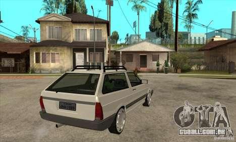 Volkswagen Parati GLS 1994 para GTA San Andreas vista direita
