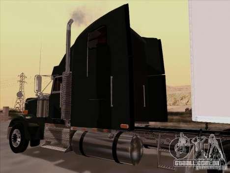 Freightliner FLD 120 Classic XL para GTA San Andreas vista traseira