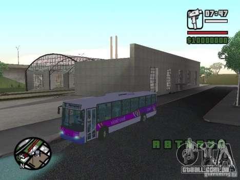 Marcopolo Viale III para GTA San Andreas vista direita