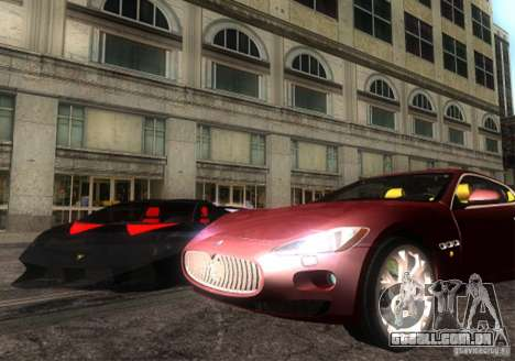 Maserati Gran Turismo para GTA San Andreas vista direita