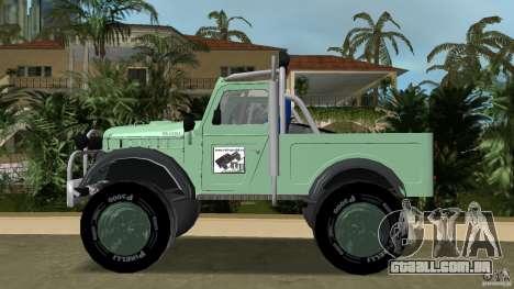 Aro M461 Offroad Tuning para GTA Vice City deixou vista