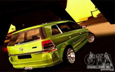 G1 MPV para GTA San Andreas vista interior