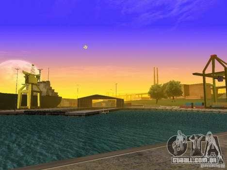 Timecyc novo para GTA San Andreas quinto tela