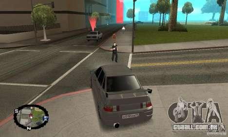 Corrida de rua para GTA San Andreas sexta tela