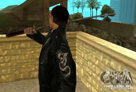 Substituição peles Yakuza para GTA San Andreas terceira tela