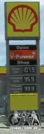 Shell Petrol Station V2 Updated para GTA 4 quinto tela