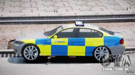 BMW 350i Indonesian Police Car [ELS] para GTA 4 vista interior