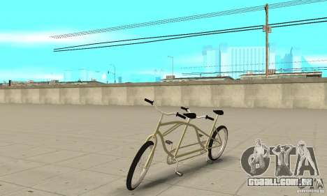double classic MT Bike para GTA San Andreas