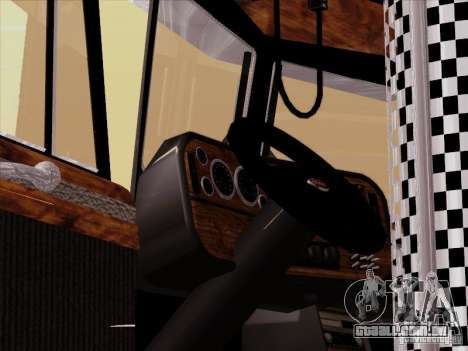 Peterbilt 378 Custom para vista lateral GTA San Andreas
