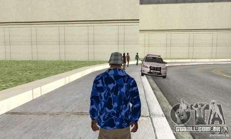 Hoody skin para GTA San Andreas
