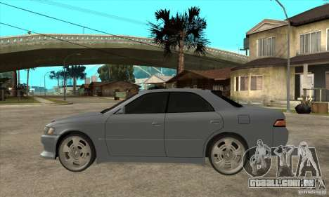 TOYOTA MARK II GT para GTA San Andreas esquerda vista