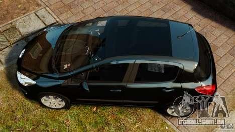 Peugeot 308 2007 para GTA 4 vista direita