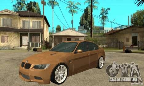 BMW E90 M3 para GTA San Andreas
