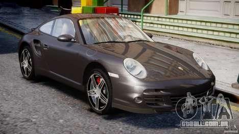 Porsche 911 Turbo para GTA 4 vista lateral