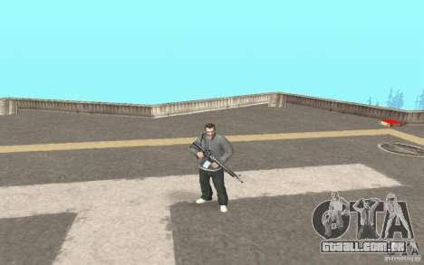 Animação de GTA IV para GTA San Andreas segunda tela